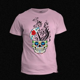 Skull Candy T-shirt Pink