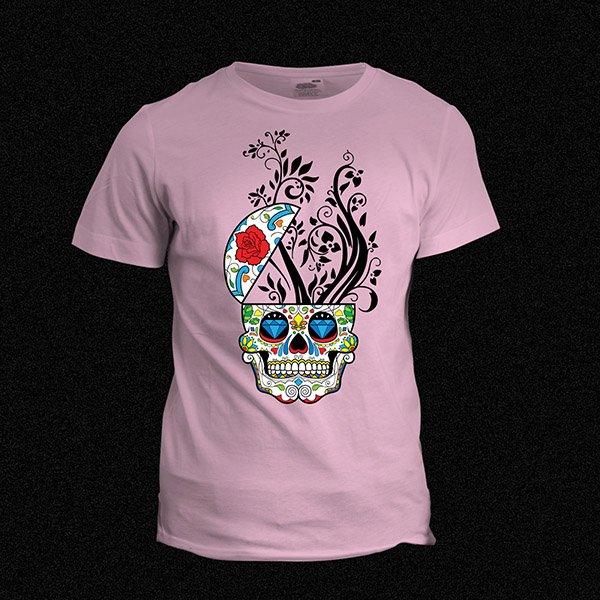 Skull Candy T-shirt Pink