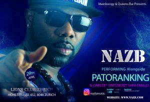 nazb patoranking party new edit
