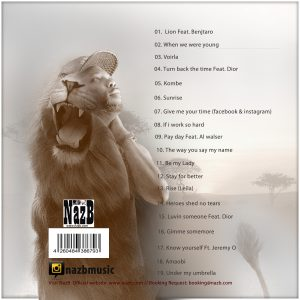 NazB Lion Back cover
